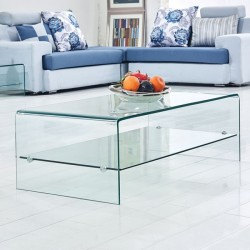 COFFEE TABLE FROM GLASS