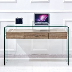 OFFICE-CONSOLE FROM GLASS