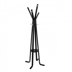 COAT HANGER BLACK WOOD
