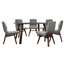 DINING TABLE SET 7 PCS OF...