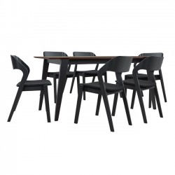 DINING TABLE SET 7 PCS OF WOOD