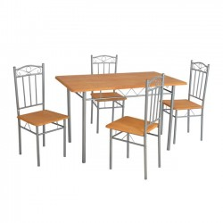 DINING TABLE SET 5 PCS OF...