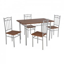 DINING TABLE SET 5 PCS IN...