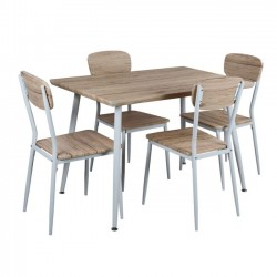 DINING TABLE SET 5 PCS