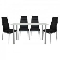 DINING TABLE SET 5 PCS...